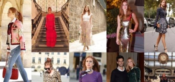 Modelitos utilizados por Marina Ruy Barbosa na Fashion Week e passeios por Paris.