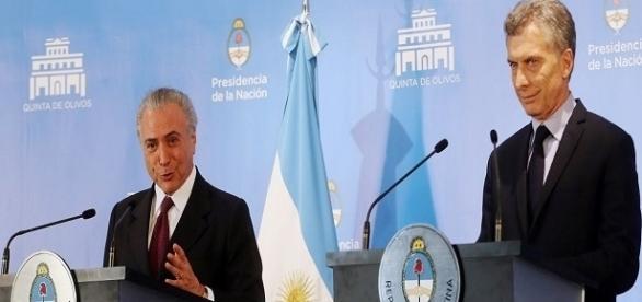 Presidente Temer estreita relação com países vizinhos do Brasil