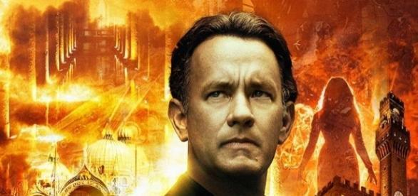 Włoski plakat z filmu 'Inferno' - pinterest.com