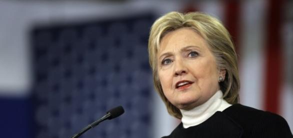 Candidata Democrata Hillary Clinton