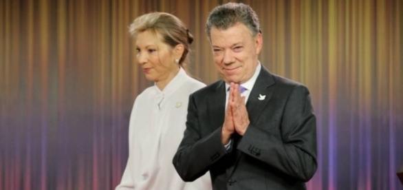 El presidente de Colombia Juan Manuel Santos gana el premio Nobel