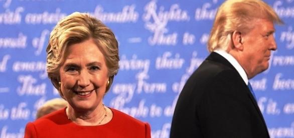Hillary Clinton è in netto vantaggio su Donald Trump.