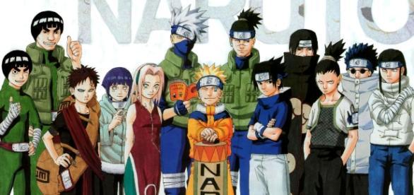Ilustración de la primera saga de 'Naruto'