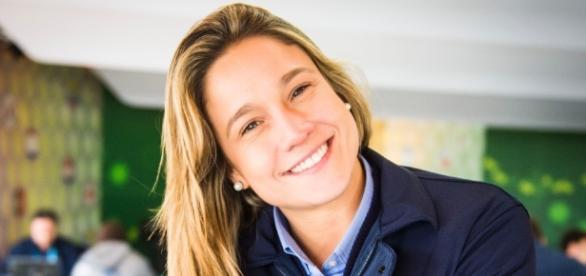 Jornalista Fernanda Gentil assumiu publicamente o seu romance com Priscila Montandon