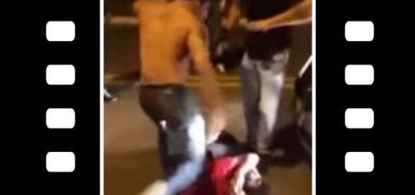 Jovem chega a desmaiar, após ser agredido por grupo de rapazes em Campo Grande