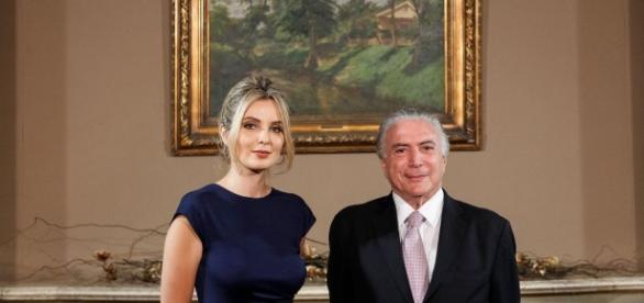 Marcela Temer fez seu primeiro discurso como primeira-dama