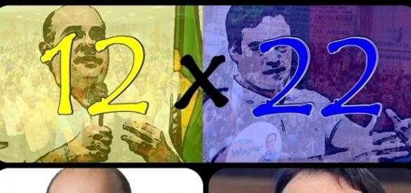 Roberto Claudio e Capitão Wagner continuam na disputa pela prefeitura de Fortaleza.