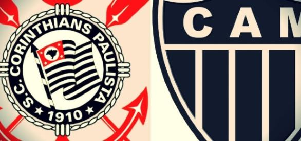 O Corinthians está em sétimo lugar no Campeonato Brasileiro