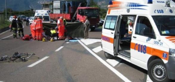 Calabria, incidente sulla statale 106: due feriti.