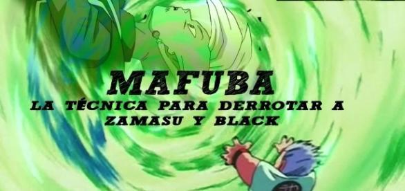 El mafuba, la técnica para acabar con Zamasu y Black.