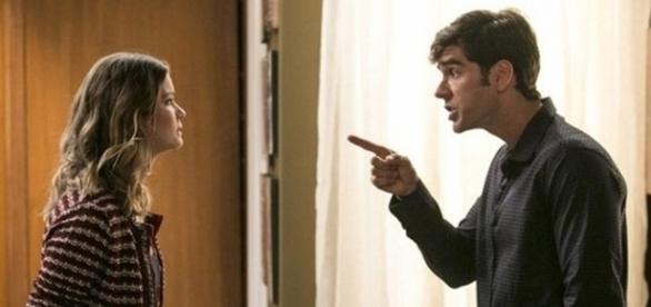 Felipe quer Jéssica na cadeia (Divulgação/Globo)