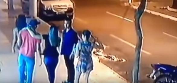 Homicídio em frente à casa noturna em Dourados