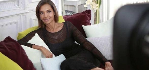 Karine Le Marchand dans son émission 'Ambition intime'