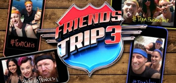 4 équipes au départ de Friends Trip 3