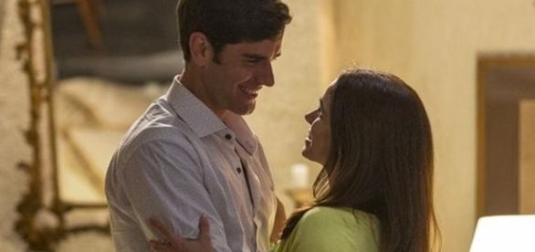 Felipe quer se casar com Shirlei (Divulgação/Globo)