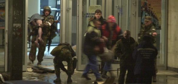 În octombrie 2002, forțele speciale rusești au intervenit în forță pentru a elibera ostaticii de la teatrul Dubrovka din Moscova