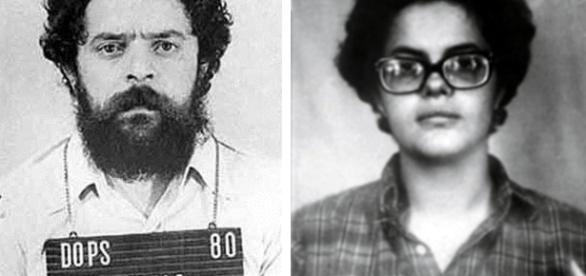 Lula e Dilma presos - Imagem/Google