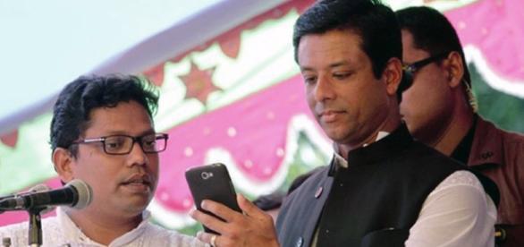 Sajeeb Wazed Joy son of Sheikh Hasina