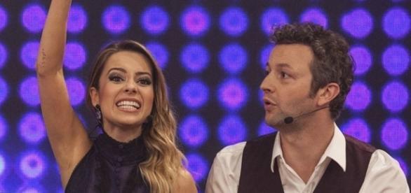 Sandy e Lucas. Foto: Divulgação TV Globo.