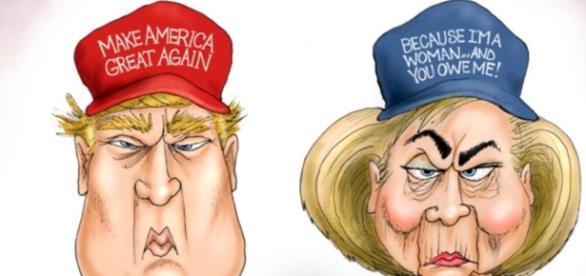 Trump vs. Clinton – Two Tweets That Say It All | Liberty Blitzkrieg ...- libertyblitzkrieg.com