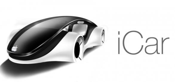 """Uma das projeções daquele que seria o """"iCar"""", o modelo autônomo da Apple; setor automotivo não empolgou a gigante da tecnologia"""