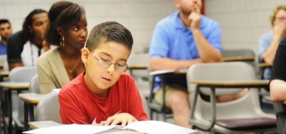 Aos 7 anos, William já dominava conceitos de trigonometria