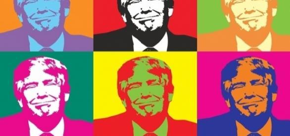 Divers parfums de Donald Trump, candidat républicain à la Présidence des États-Unis