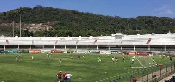 Flu se prepara para encara o Flamengo (Foto: Arquivo)