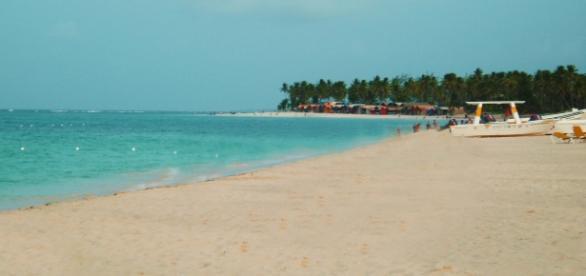 Playa de Cancún. Fotografía por Cristina Crespo.