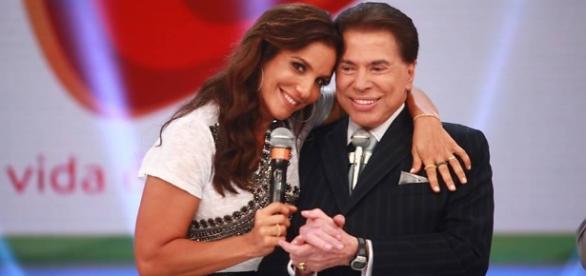 Silvio Santos é mais um fã da cantora baiana Ivete Sangalo