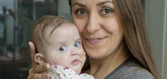 Amy Brace aguarda por transplante que possa salvar a vida de Marnie