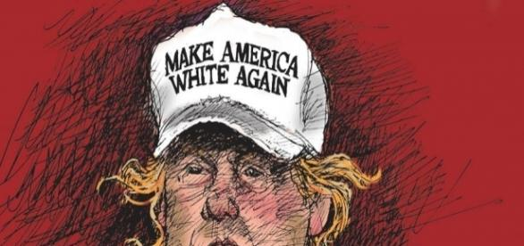 "Donald Trump is the new face of white supremacy,"" says hate crime ... - watchingthewheelsdad.net"