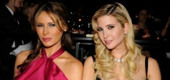Melania ed Ivanka Trump, moglie e figlia di 'The Donald'