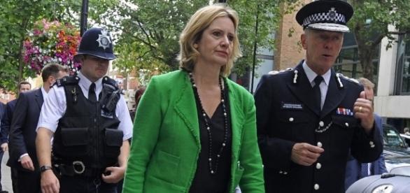 Ministrul de Interne britanic, Amber Rudd
