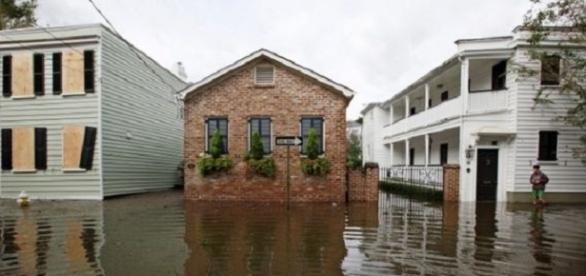 Partes de Charleston en Carolina del Sur vieron inundaciones significativas