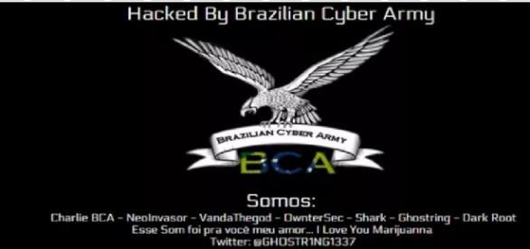 Site da igreja católica é hackeado - Imagem/Reprodução
