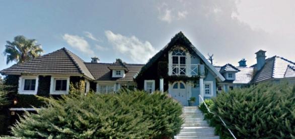 A possível mansão de Lula no Uruguai.
