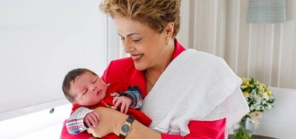 Dilme curte a família no Sul do país