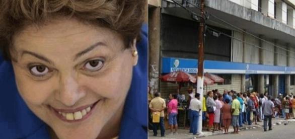 Ex-presidente Dilma teve facilidade para se aposentar (Foto: Reprodução)