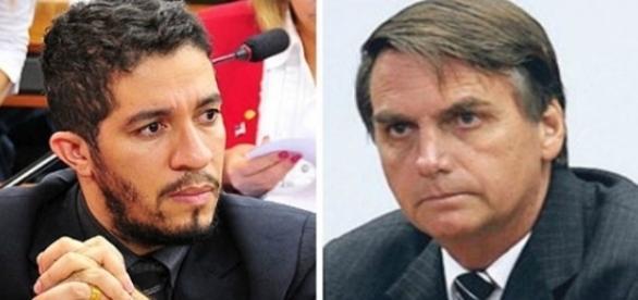 Jean passa por processo por ter cuspido em Jair Bolsonaro (Foto: Reprodução)