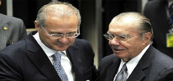 Renan e Sarney perderam preferência em seus redutos (Foto: Reprodução)