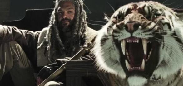 The Walking Dead: Ezekiel e Shiva