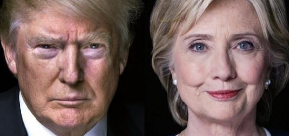 Un sondaggio del Los Angeles Times rileva Trump al 46,6% contro il 43,2% di Hilary Clinton