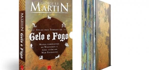 Atlas das Terras de Gelo e Fogo, de George R. R. Martin