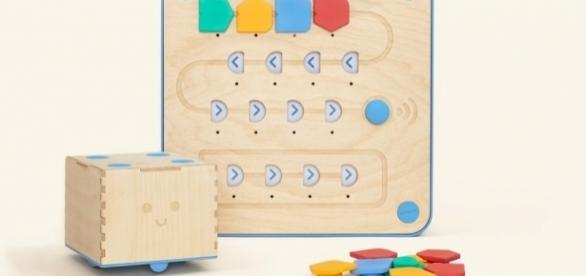 Cubetto aims to teach small children basic coding. / Photo via Filippo Yacob, Primo Toys. Used with permission.