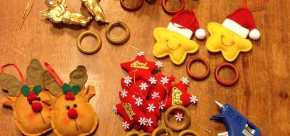 Enfeites de Natal feitos em casa garantem beleza e economia