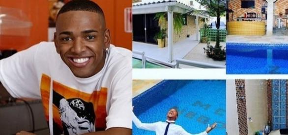 Nego do Borel anuncia venda de mansão nas redes sociais