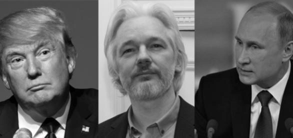 Trump,Assange și Putin, artizanii celei mai mari surprize din istoria alegerilor prezidențiale din Statele Unite ale Americii