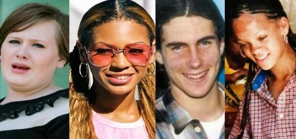 Veja como eram os famosos antes da fama