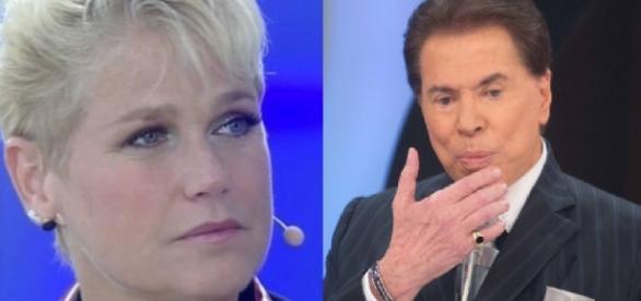 Xuxa e Silvio Santos - Imagem Google
